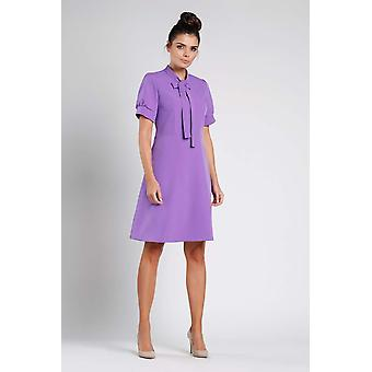 Paarse nommo jurken