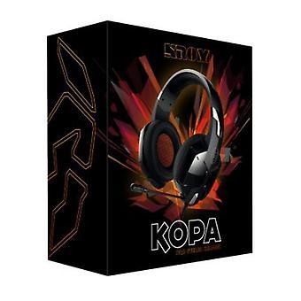 Gaming Headset with Microphone NOX NXKROMKPST Black
