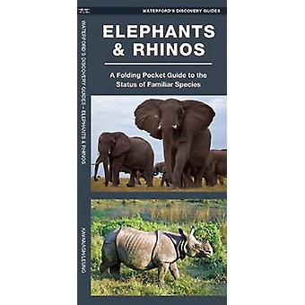 Waterford's Discovery Guide - Elephants and Rhinos - A Folding Pocket G