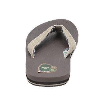 Sanuk Yogi 3 Men's Sandals Beige Flip-Flops Summer Shoes