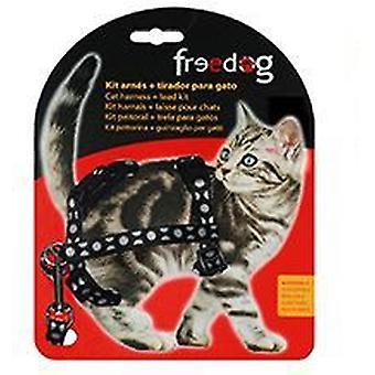 Freedog harnais Kit + poignée chats (les chats, colliers, cordons & harnais, harnais & Leads)