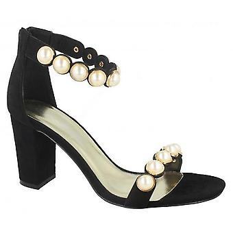 Anne Michelle Womens/Ladies Pearl Trim Sandals