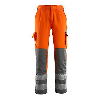 Mascot olinda hi-vis work trousers 07179-860 - safe compete, mens -  (colours 1 of 2)