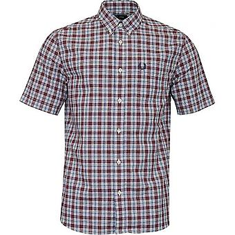 Fred Perry Small Check Short Sleeved Shirt
