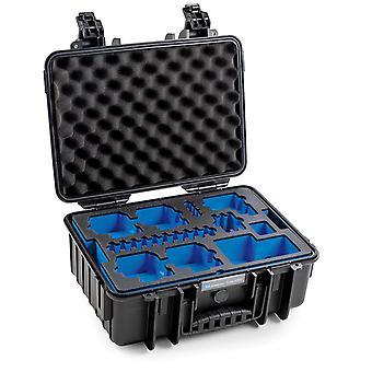 B&W GoPro Case Typ 4000 für GoPro Hero 8, Schwarz Mit Schaumstoffeinsatz