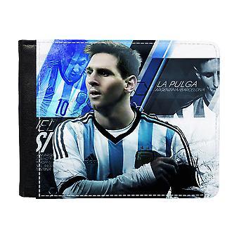 Lionel Messi Plånbok Med Myntfack