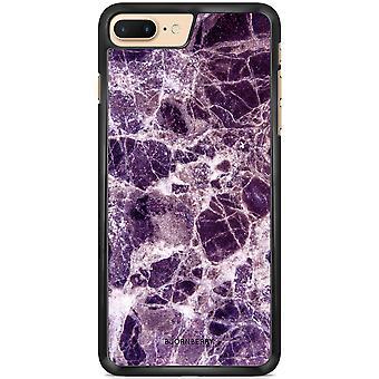 Bjornberry Peel iPhone 7 Plus - Purple Marble