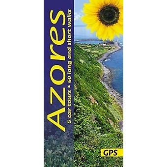 Azores - 5 car tours - 60 long and short walks with GPS by Andreas Sti
