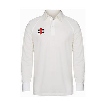 Gray Nicolls Matrix Long Sleeve Cricket Shirt