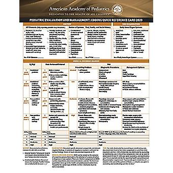 Pediatric Evaluation and Management - Coding Quick Reference Card 2020