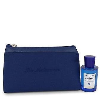 Blu Mediterraneo Cedro Di Taormina Gift Set By Acqua Di Parma 2.5 oz Eau De Toilette Spray (Unisex) in Bag