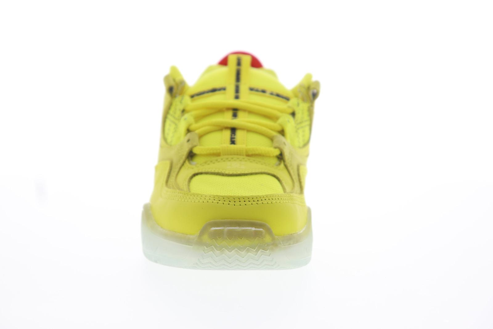 DC Kalis OG X Diet commence lundi Mens Yellow Athletic Skate Shoes