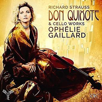 Ophelie Gaillard - Strauss: Don Quixote & Cello Works [CD] USA import