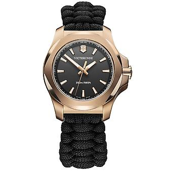 Victorinox Swiss Army Watches 241880 I.n.o.x. Rose Gold & Black Paracord Ladies Watch