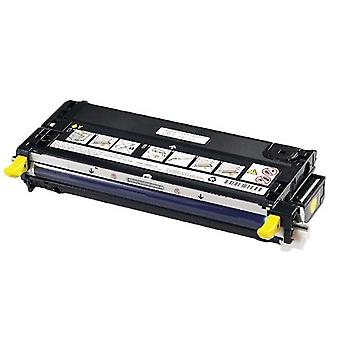RudyTwos Replacement for Dell 593-10173 Toner Cartridge Yellow Compatible with 3110, 3110CN, 3115, 3115CN