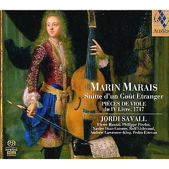 M. Marais - Marin Marias: Suitte D'Un Go T Etranger [SACD] USA import