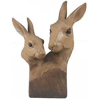Animal Kingdom Two Hares Bust
