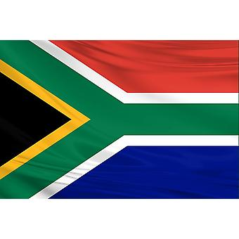 Pack of 3 South Africa Flag 3ft x 5ft Polyester Fabric Rugby Sport Country