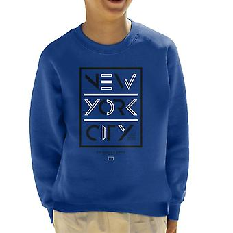Divide & Conquer New York City Dry Goods Kid's Sweatshirt