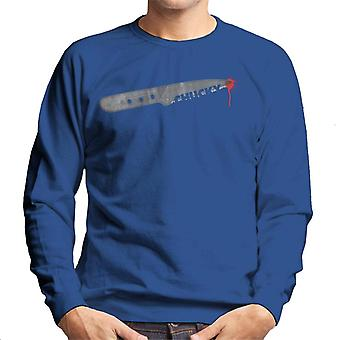 Chucky droplet van bloed mannen ' s Sweatshirt