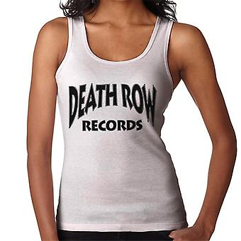 Death Row Recrods Logo Black Women's Vest