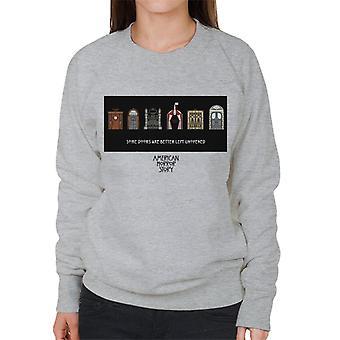 American horror Story egyes ajtók nők ' s Sweatshirt