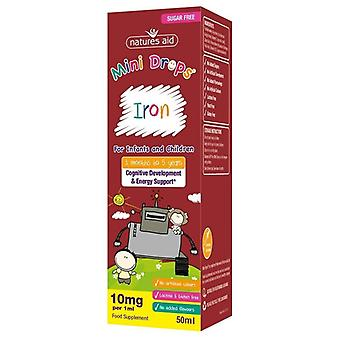 Nature's Aid Iron Mini Drops for Infants & Children 50ml (147110)
