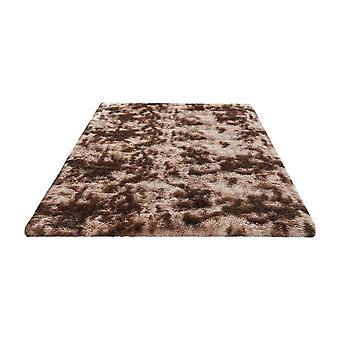 PV Velvet Tie Dye Soft Printed Carpet Coffee 60x160cm