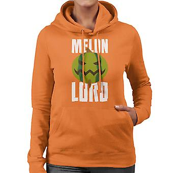 Toph Melon Lord The Last Airbender Women's Hooded Sweatshirt