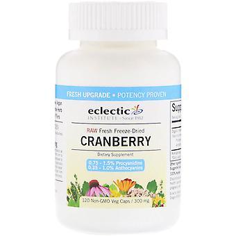 Eclectic Institute, Cranberry, 300 mg, 120 Veg Caps