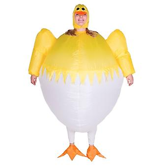 Inflatable Chick Halloween Costume Trick Or Treat One Size Fits All Adults