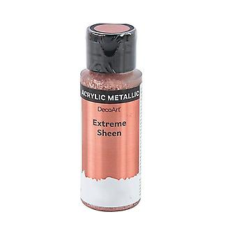 59ml Extreme Sheen Metallic Acrylic Paint for Adults Crafts - Rose Gold
