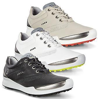 Ecco Womens Biom Hybrid Hydromax Spikeless läder Golfskor