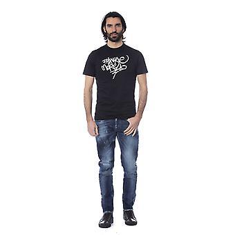 Frankie Morello Black T-Shirt FR680208-S
