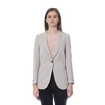 Peserico Beige Jackets & Coat PE854314-IT42-S
