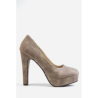 Classic Platform Court Shoes
