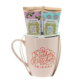 Friends Mug And Hand Cream Gift Set 2x 50ml Lotions pour les mains officiellement sous licence