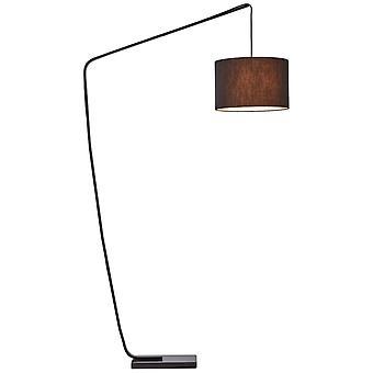 BRILLIANT Daria Lampe à l'arc 2,1m noir luminaires intérieurs,luminaires en position debout, arcs   1x A60, E27, 40W, convient pour les lampes normales