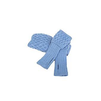 Huset cheviot damer lady rannoch sokk & håndledd varmere sett ~ blåklokke
