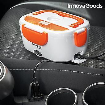 Elektrische lunchbox voor de auto InnovaGoods 40W 12 V White Orange