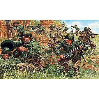 Italeri 6046 Wwii- American Infantry 1:72 Scale Model Kit