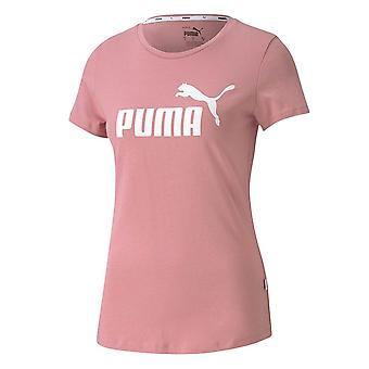 Puma Ess Logo Tee 85345516 universal all year men t-shirt