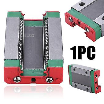 1pcs של Mgn12h פלדה הזזה לחסום מדריך (43x26x10mm) עבור מיסבים ליניאריים