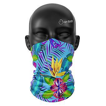 Tropical Colours Snood Face Mask Scarf Neckerchief Head Cover Tube Unisex Buffs