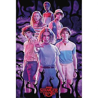 Stranger Things 3 Poster Groep 294