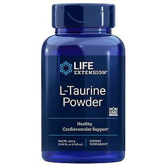 Przedłużenie żywotności Proszek L-tauryny, 300 gramów
