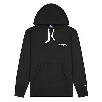 Champion kleine Skript Logo Fleece Hoodie 214780KK001 universal ganzjährig Männer Sweatshirts