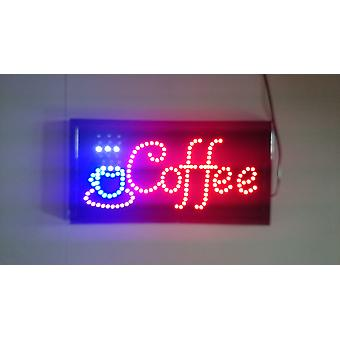 Neon Lights Led Animated Coffee Sign Customers Attractive Sign Store Shop Sign