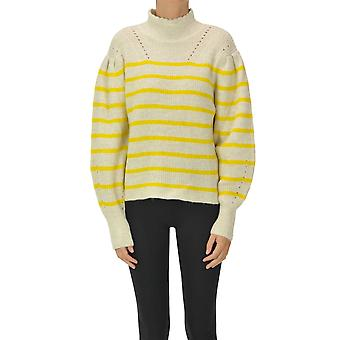 Isabel Marant ÉToile Ezgl287060 Women's Yellow Wool Sweater