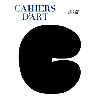 Cahiers D'art N 1, 2012
